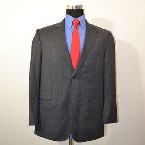 Pronto Uomo 44S Sport Coat Blazer Suit Jacket Gray